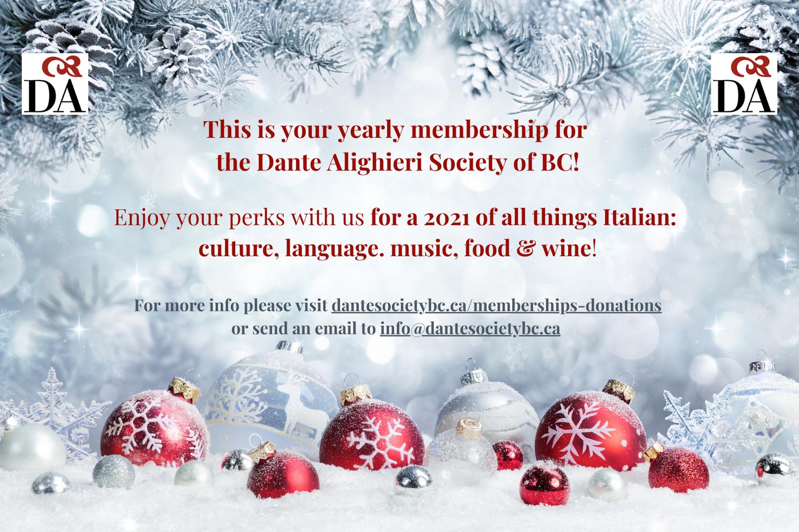 Gift Card membership 3