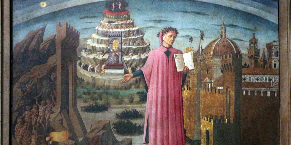 """Four Evenings with Dante and his """"Divine Comedy"""""""