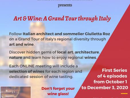 Art & Wine: A Grand Tour through Italy