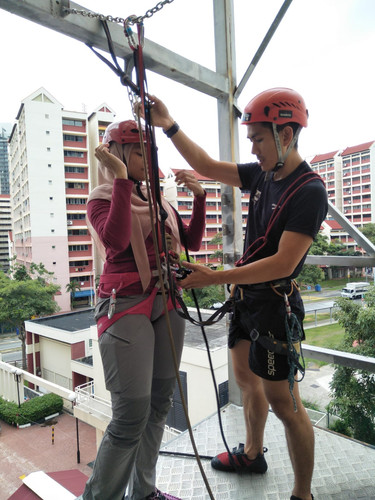 Climbing and Abseil