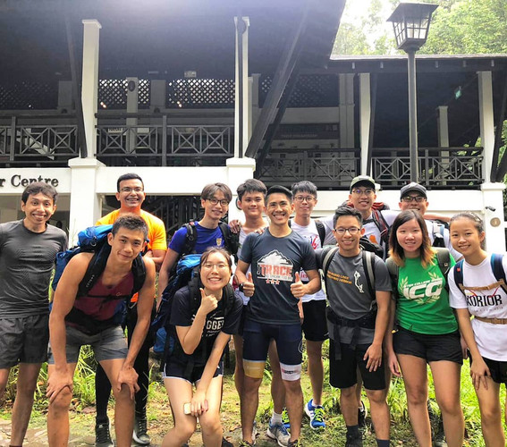 National University of Singapore Undergrads from the Make It Real Mountaineering program