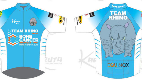 Equinox Marketing Sponsor Team Rhino for the London 100 in aid of The Bone Cancer Research Trust.