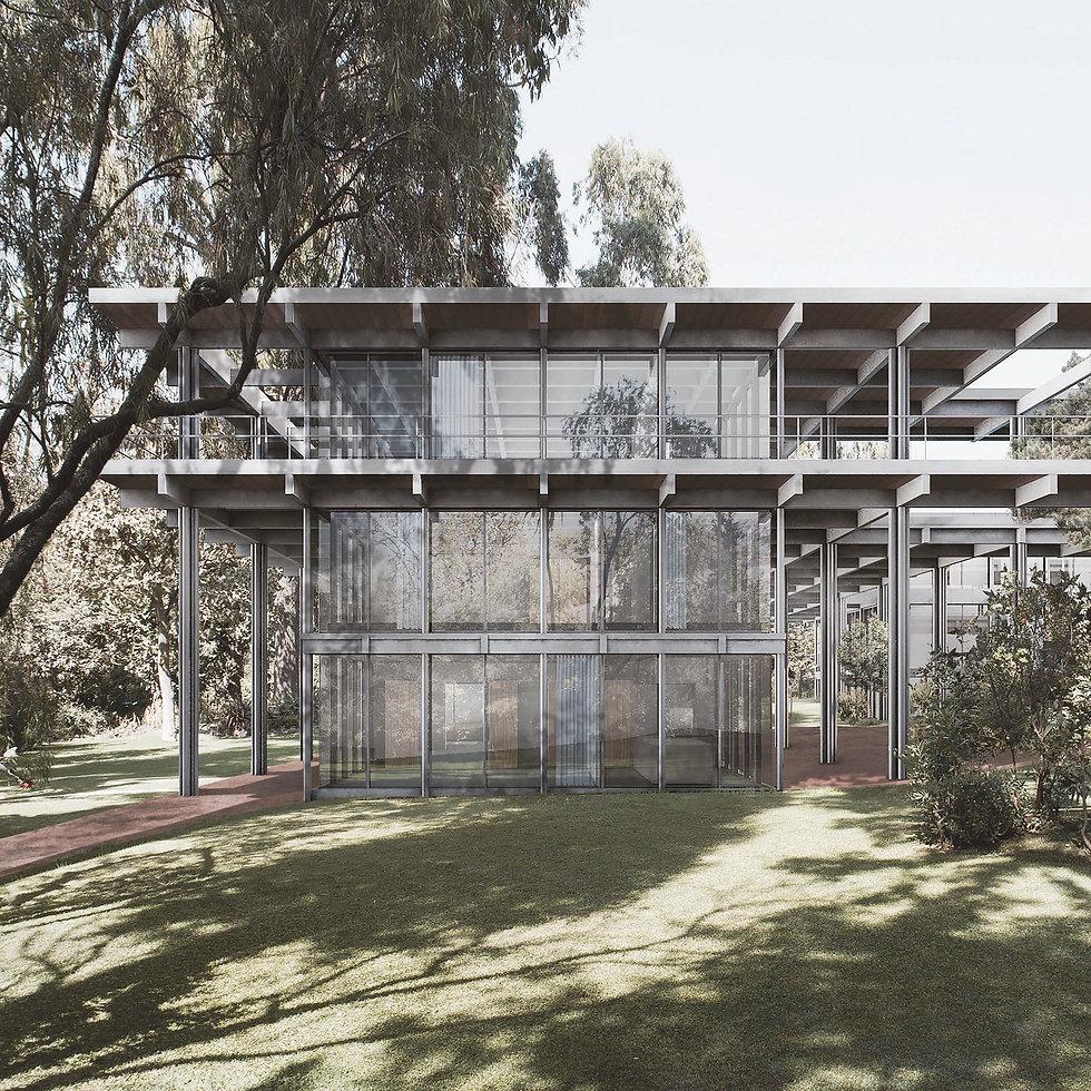 Schweizer Botschaft Addis Abeba - Garten