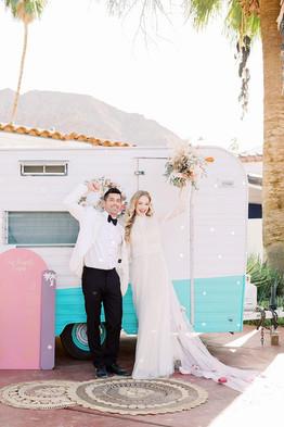 Pastel-Pink-bohemian-California-Wedding-