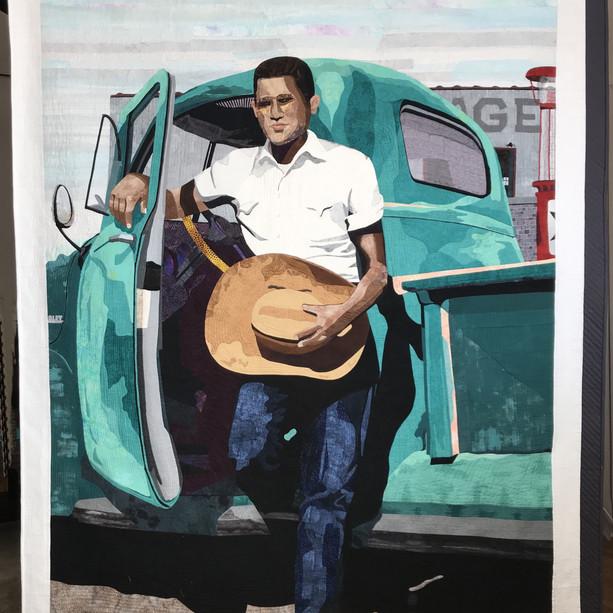 Navajo Boy with Truck