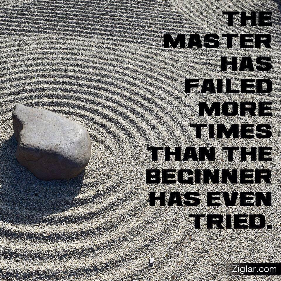 There Is Reward In Failure