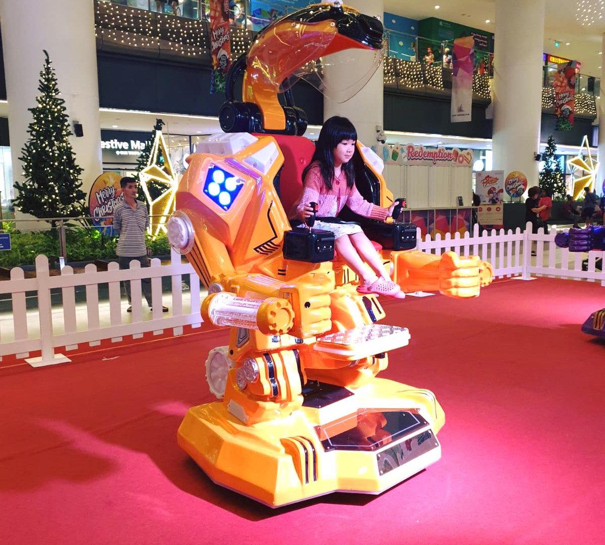 Yellow Ironman Robotic Ride