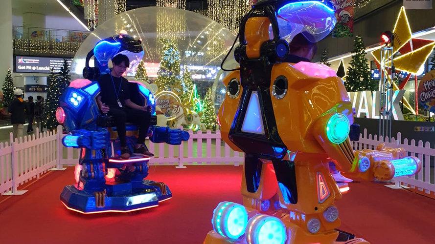 Lights Up! Ironman Robotic Ride