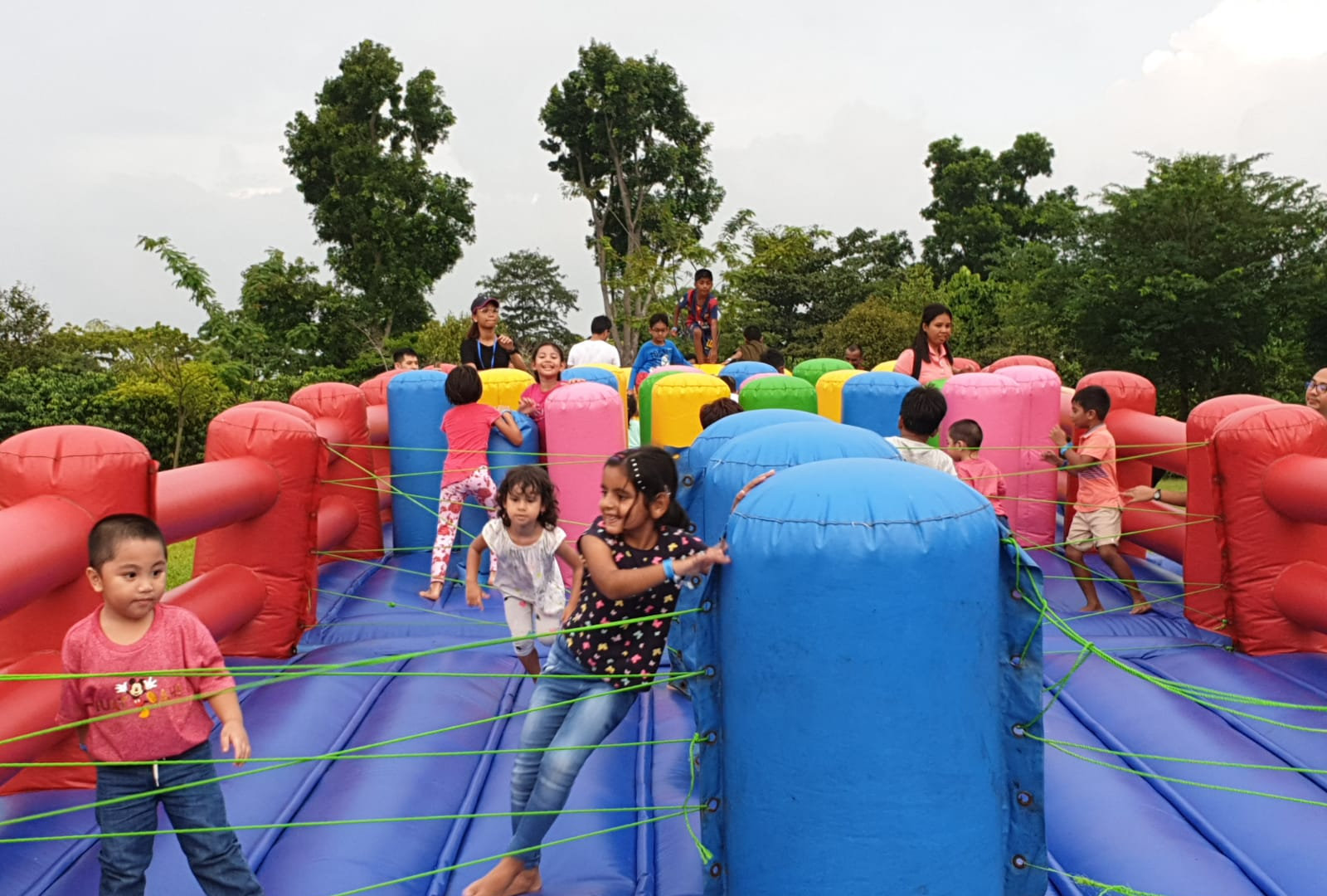 Survivor Challenge @ SCB Family Day (Gardens By The Bay)