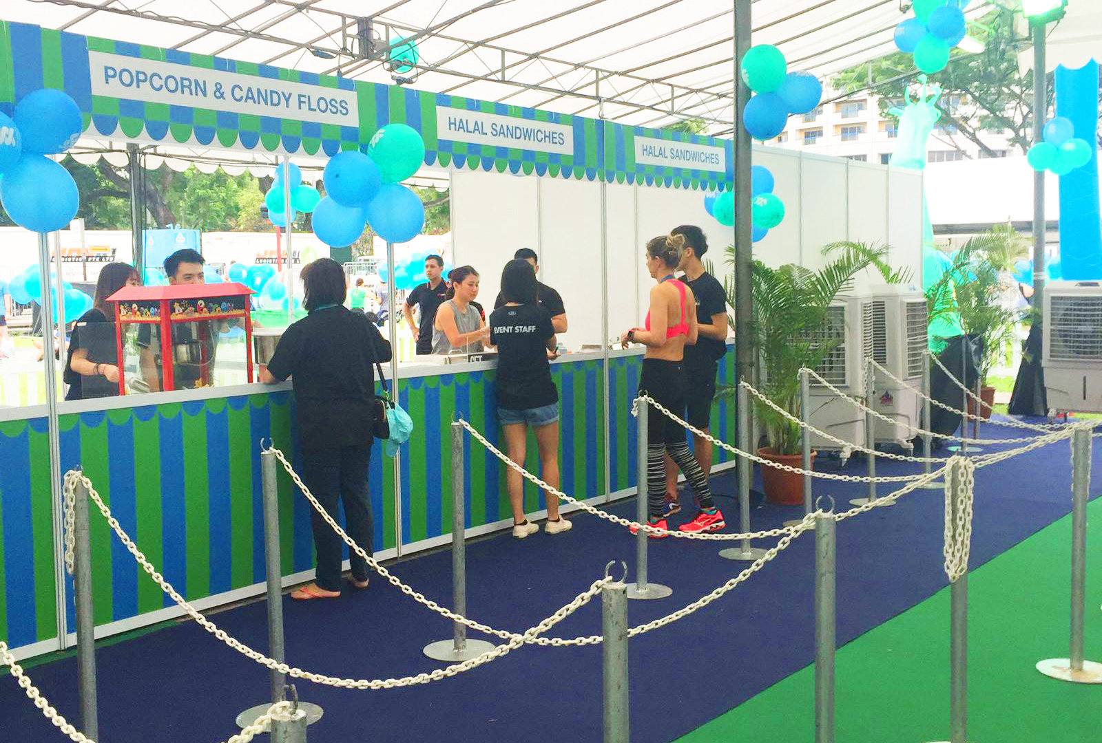 SCB Exhibition Booths