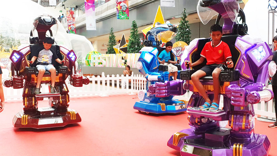 Ironman Robotic Ride