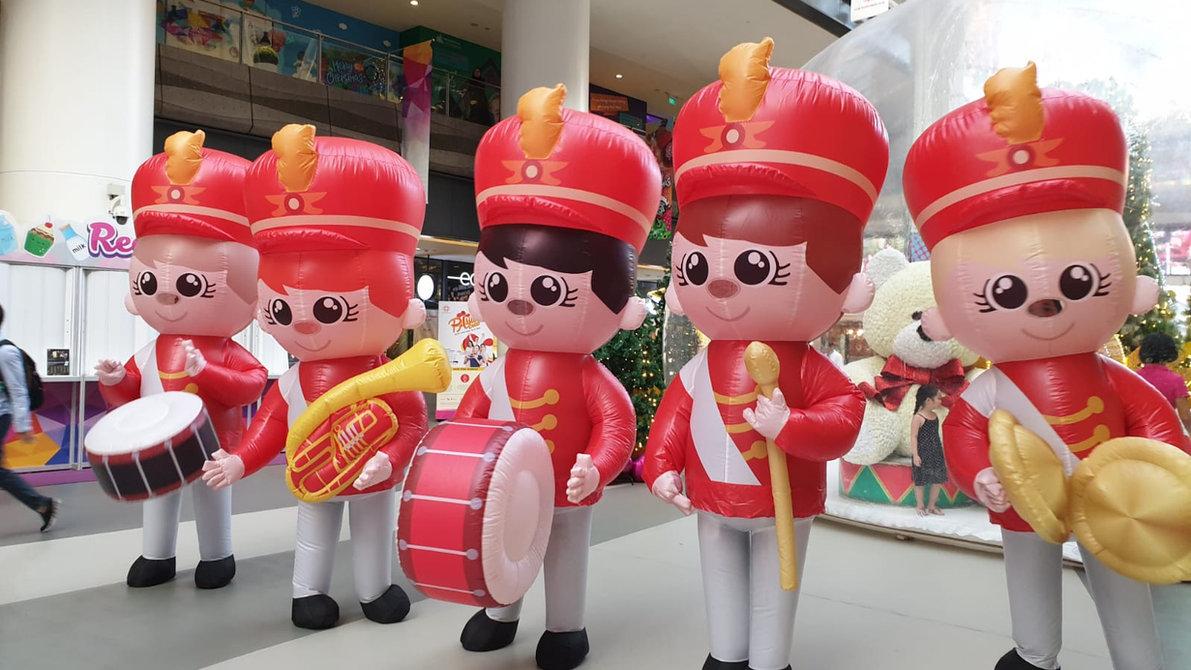 Marching Band Mascot