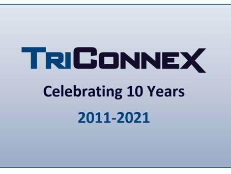 TriConnex celebrates its 10 year anniversary!