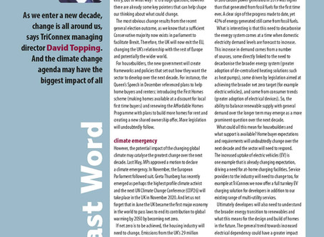 David Topping has Housebuilder Magazines Last Word