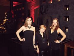 Sunset Orange Ladies Trio