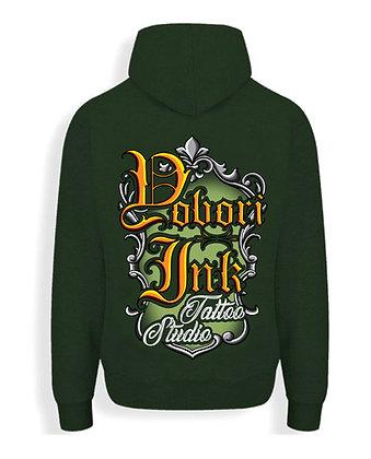 Combat Green Yobori-Ink Hoodie