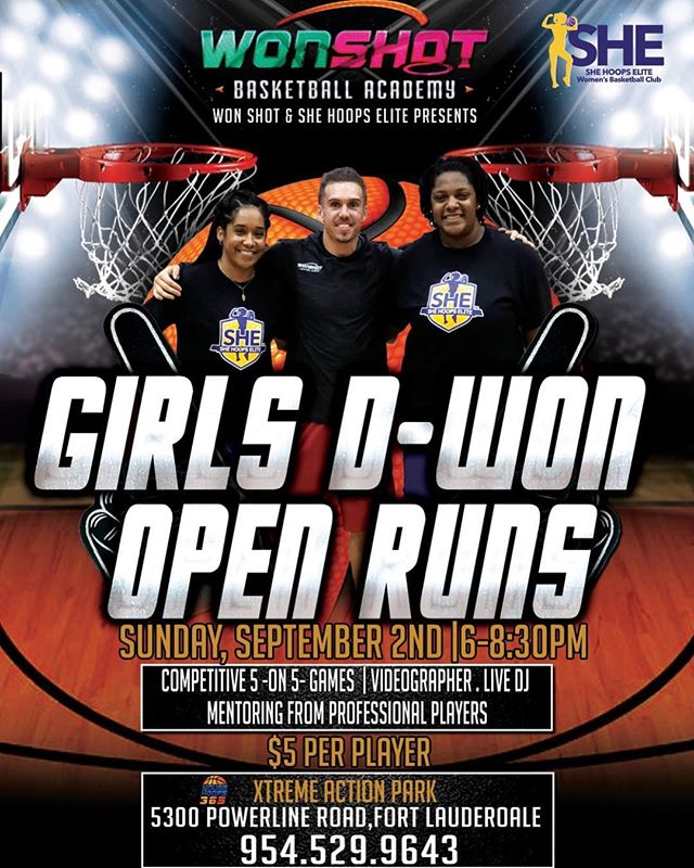 🚨High School Open Gym🚨 This Sunday Gir