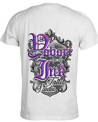 White/Purple T-Shirt