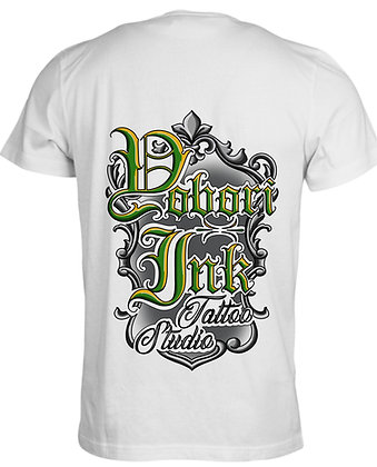 White/Green T-Shirt