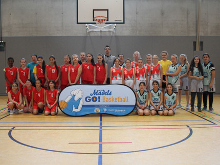 MädelsGO!Basketball Schul-AGs feiern Saisonabschluss