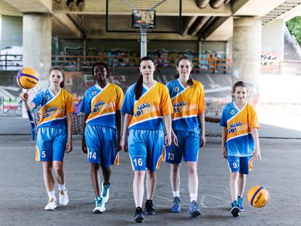 Rosige Zukunft für MädelsGO!Basketball