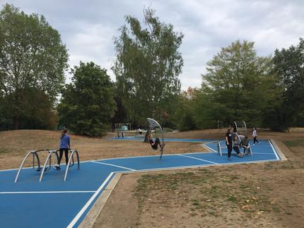 U14w3 und u16w3 sportlich unterwegs trotz Sommerferien