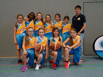 Grandiose Teilnahme der U11w-Mädchen am Junior Franken Saison-Abschluss-Turnier