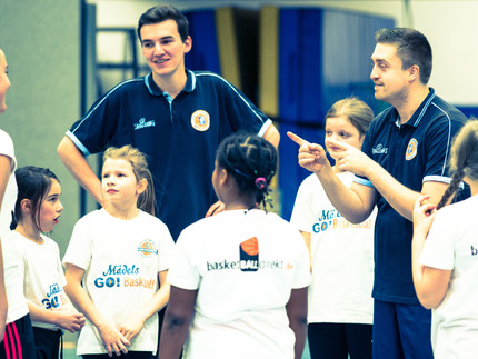 MädelsGO!Basketball sucht Verstärkung für ihr Trainerteam