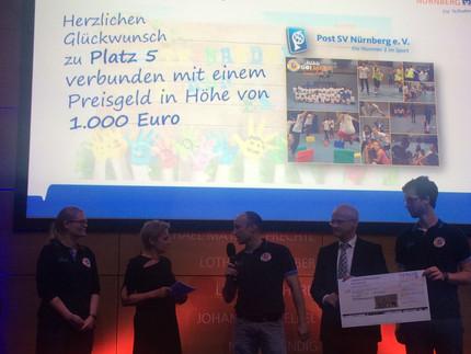 MädelsGO!Basketball gewinnt 5. Förderpreis der bayerischen Volks- und Raiffeisenbanken