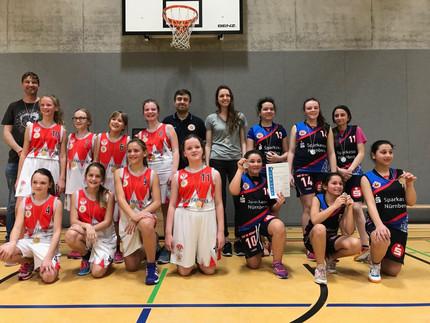 MädelsGO!Basketball Schulen starten bei Jugend trainer für Olympia