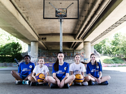 Fotoshooting MädelsGO!Basketball