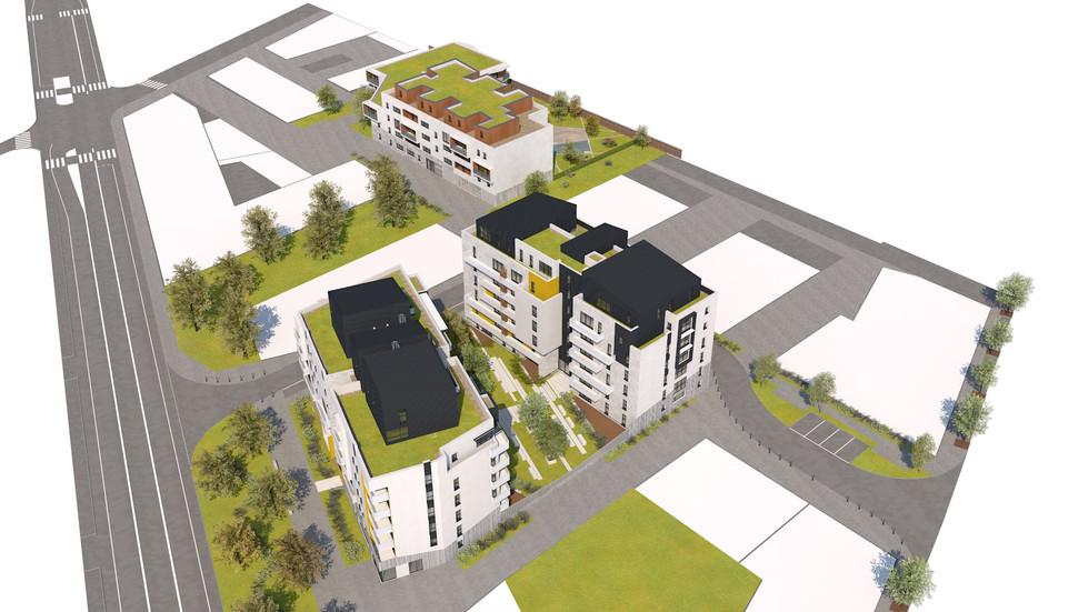 Résidence Rondeau - 135 logements - Rouen