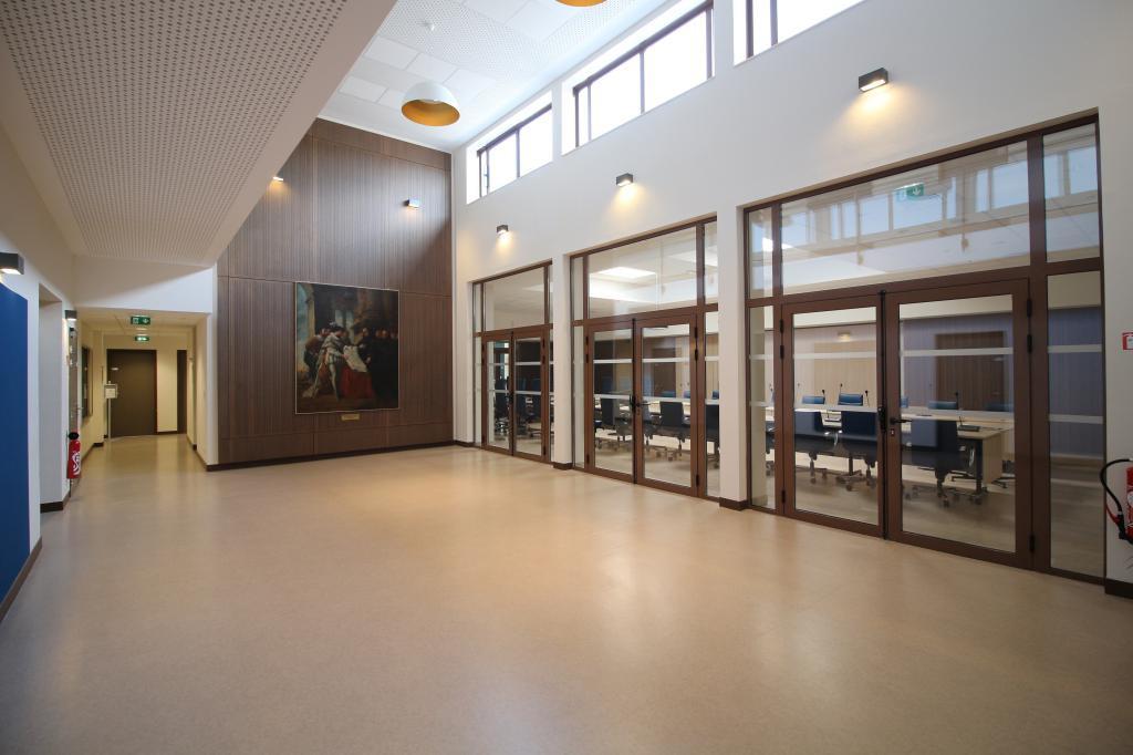 Mairie du Tréport - salle des expositions