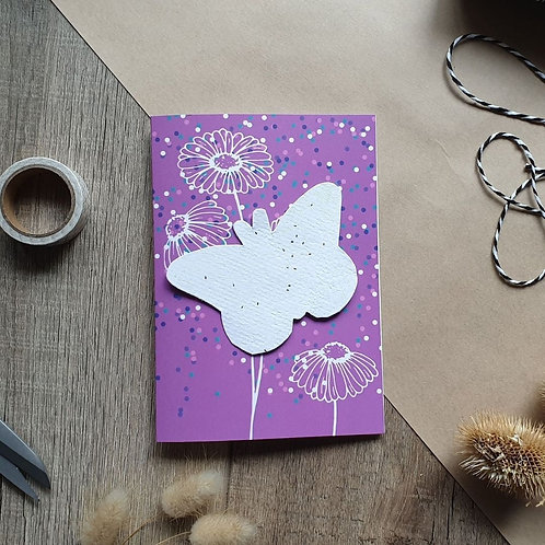 Living Card - Pack of 10 - Butterfly