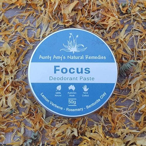 Focus Deodorant Paste