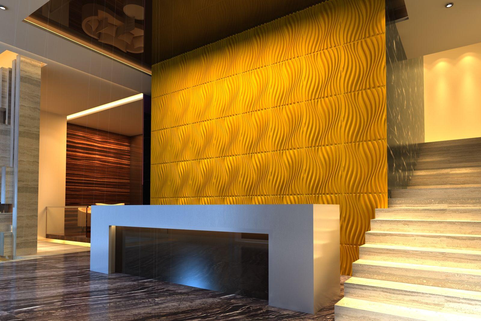 paneles decorativos 3D ecuador wall
