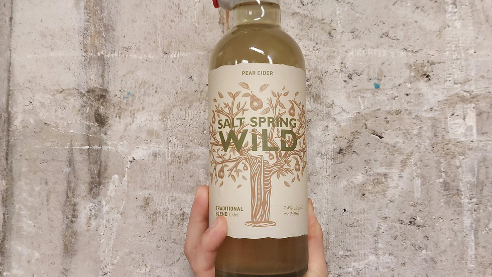 Salt Spring Wild Pear Cider