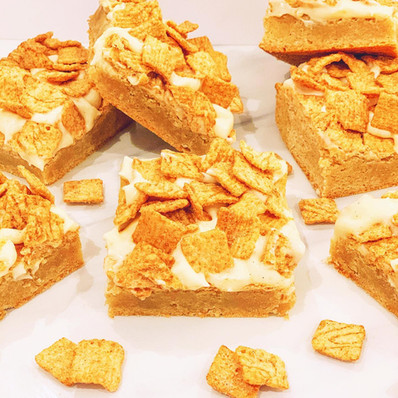 Cinnamon Toast Bars