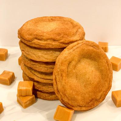 Caramel-stuffed Snickerdoodle