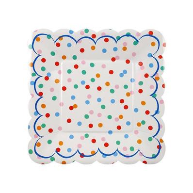 Spotty Plates by Meri Meri