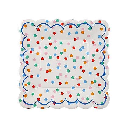Spotty Plates (Small) by Meri Meri