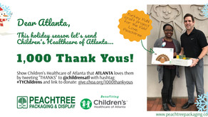 1000 Thank You's For Children's Healthcare of Atlanta!