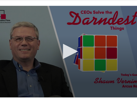 "New Video Series: ""CEOs Solve the Darndest Things"""