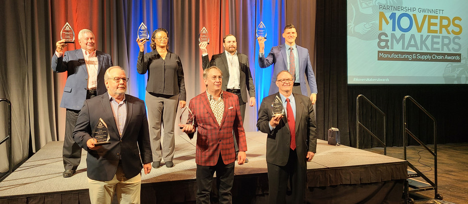 """Peachtree Packaging & Display Named a """"Supply Chain Pioneer of the Year"""" by Partnership Gwinnett"""