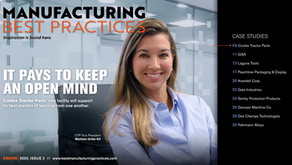 """Peachtree Featured in """"Manufacturing Best Practices"""""""
