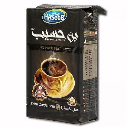 Café à la cardamone  noir HASEEB 500 gr
