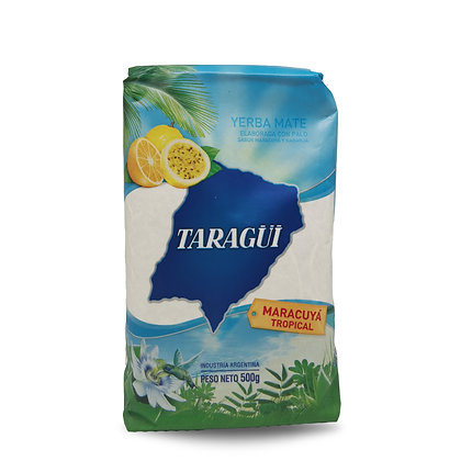 Yerba Mate saveur tropical 500 gr TARAGUI