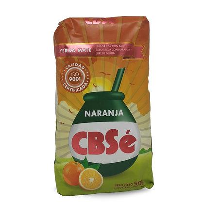Yerba Mate saveur orange 500 gr CBSé