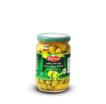 Olives Vertes (Salkini) Durra 650g