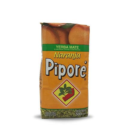 Yerba Mate saveur orange 500 gr PIPORE